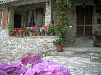 La Terrazza del Subasio, a holiday farm in Assisi, province of ...